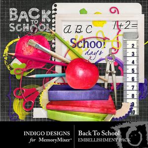 Backtoschool embellishments medium