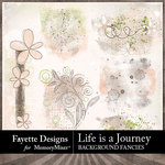 Life is a Journey Background Fancies-$2.10 (Fayette Designs)