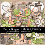 Life is a Journey Combo Pack-$5.60 (Fayette Designs)
