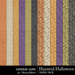 Haunted Halloween Glitter PP-$1.99 (Lindsay Jane)