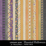 Haunted Halloween Paper Pack-$2.49 (Lindsay Jane)