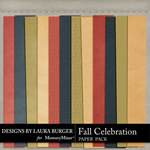 Fall Celebration Paper Pack-$2.99 (Laura Burger)