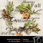 Fall Days ID Cluster Pack-$1.99 (Indigo Designs)
