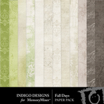 Fall Days ID Paper Pack-$2.99 (Indigo Designs)