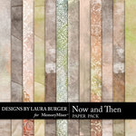 Now and Then Grunge Paper Pack-$2.99 (Laura Burger)