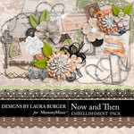 Now and Then Add On Embellishments-$3.99 (Laura Burger)