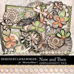 Now and Then Embellishment Pack-$3.99 (Laura Burger)