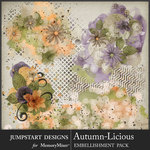Autumn Licious Accents Pack-$3.99 (Jumpstart Designs)