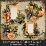 Autumn Licious Clusters Pack-$3.99 (Jumpstart Designs)