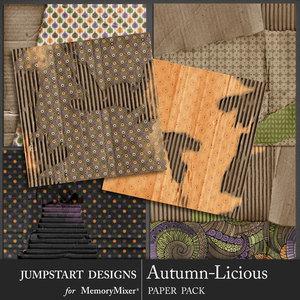 Jsd autumnlicious cardboard medium