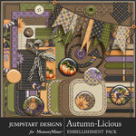 Autumn Licious Spare Parts Pack-$3.99 (Jumpstart Designs)