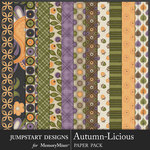 Autumn Licious Quilted Paper Pack-$3.99 (Jumpstart Designs)