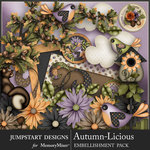 Autumn Licious Add On Embellishments-$4.99 (Jumpstart Designs)