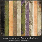 Autumn Licious Blended Paper Pack-$3.99 (Jumpstart Designs)