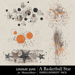 A Basketball Star Scatterz Pack-$1.99 (Lindsay Jane)