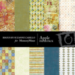 Apple Paper Pack-$3.99 (Bisous By Suzanne Carillo)