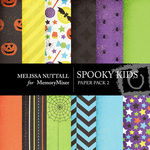 Spooky kids paper pack 2 preview small