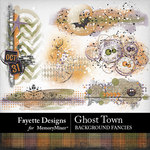 Ghost Town Background Fancies Pack-$2.99 (Fayette Designs)