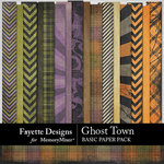 Ghost Town Basic Paper Pack-$3.99 (Fayette Designs)