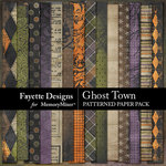 Ghost Town Patterned Paper Pack-$3.99 (Fayette Designs)