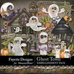 Ghost Town Embellishment Pack-$3.99 (Fayette Designs)