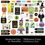 Halloween Cuties Embellishment Pack-$2.99 (Melissa Nuttall)