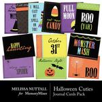 Halloween Cuties Journal Cards-$2.49 (Melissa Nuttall)