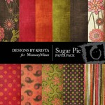 Sugar Pie Paper Pack-$4.00 (Designs by Krista)