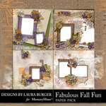 Fabulous Fall QuickPages-$4.99 (Laura Burger)