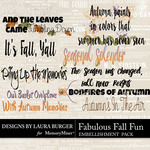 Fabulous Fall WordArt Pack-$3.99 (Laura Burger)