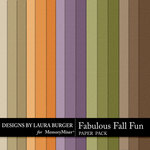 Fabulous Fall Solid Paper Pack-$2.99 (Laura Burger)