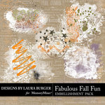 Fabulous Fall Gesso Scatters Pack-$4.99 (Laura Burger)