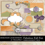 Fabulous Fall Journal and Tags Pack-$2.99 (Laura Burger)
