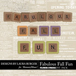 Fabulous Fall Alphabet Pack-$2.99 (Laura Burger)