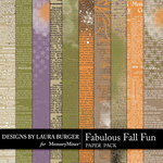 Fabulous Fall Newspaper Pack-$2.99 (Laura Burger)