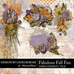 Fabulous Fall Clusters Pack-$4.99 (Laura Burger)