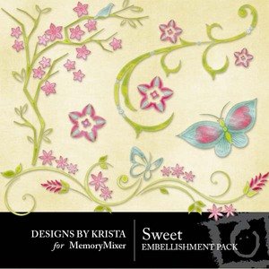Sweet embellishment preview medium