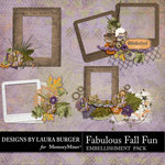 Fabulous Fall Cluster Frames Pack-$4.99 (Laura Burger)