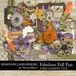 Fabulous Fall Add On Embellishments-$3.99 (Laura Burger)