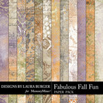 Fabulous Fall Grunge Paper Pack-$3.99 (Laura Burger)