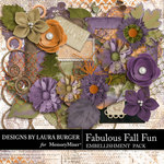 Fabulous Fall Embellishment Pack-$3.99 (Laura Burger)