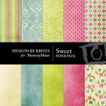 Sweet Paper Pack-$4.00 (Designs by Krista)