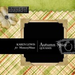 Autumn Spice QuickMix-$4.00 (Karen Lewis)