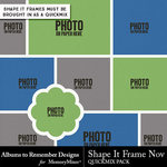 Shape It Frame November-$1.99 (Albums to Remember)
