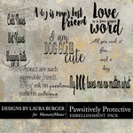 Pawsitively Protective WordArt Pack-$4.99 (Laura Burger)