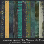 Measure of a Man Blended Papers-$3.99 (Jumpstart Designs)