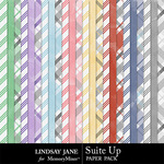Suit Up Extra Paper Pack-$1.40 (Lindsay Jane)
