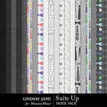 Suit Up Paper Pack-$2.49 (Lindsay Jane)