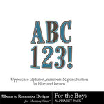 For the Boys ATR Alphabet Pack-$2.99 (Albums to Remember)