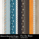 For the Boys ATR Paper Pack-$2.80 (Albums to Remember)